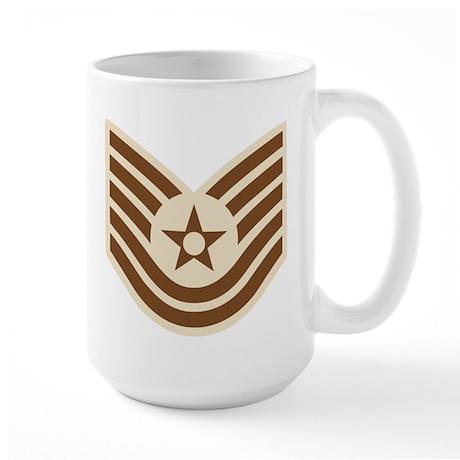 Air Force Tech Sgt Large Mug