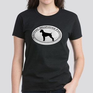 GERMAN WIREHAIRED POINTER Women's Dark T-Shirt