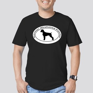 GERMAN WIREHAIRED POIN Men's Fitted T-Shirt (dark)