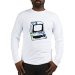 Old School Computer Long Sleeve T-Shirt