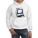 Old School Computer Hooded Sweatshirt