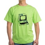 Old School Computer Green T-Shirt