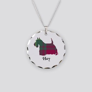 Terrier - Hay Necklace Circle Charm