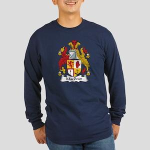 MacBean Long Sleeve Dark T-Shirt