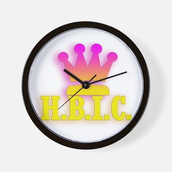 H.B.I.C. Wall Clock