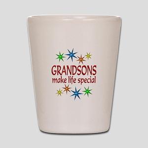 Special Grandson Shot Glass