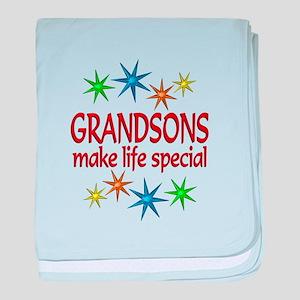 Special Grandson baby blanket
