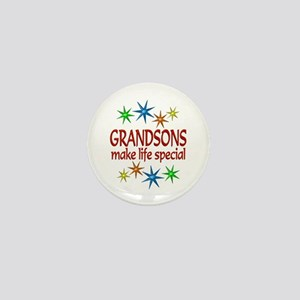 Special Grandson Mini Button