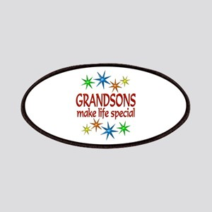 Special Grandson Patches