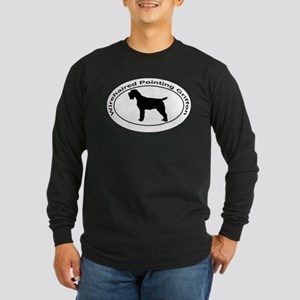 WIREHAIRED POINTING GRIFF Long Sleeve Dark T-Shirt
