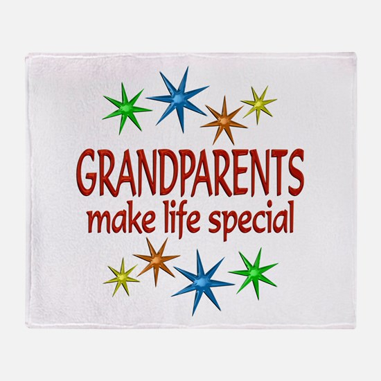 Special Grandparents Throw Blanket