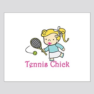 Tennis Chick Posters