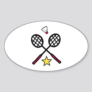 Badminton Gear Sticker