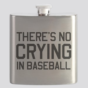 There's no crying in baseball Flask