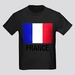 French Flag France Text T-Shirt