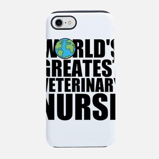 World's Greatest Veterinary Nurse iPhone 7 Tou