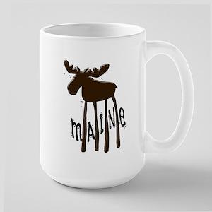 Maine Moose Large Mug