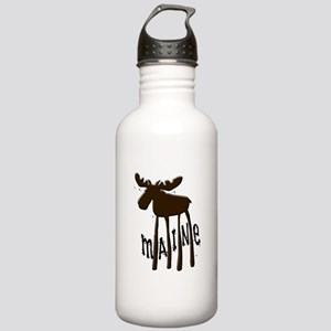 Maine Moose Stainless Water Bottle 1.0L