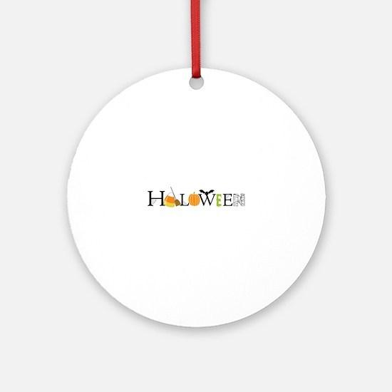 Halloween Ornament (Round)
