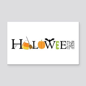 Halloween Rectangle Car Magnet