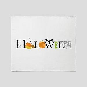 Halloween Throw Blanket