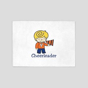 Cheerleader 5'x7'Area Rug
