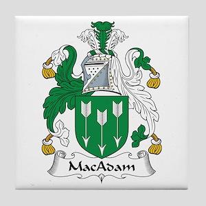 MacAdam Tile Coaster