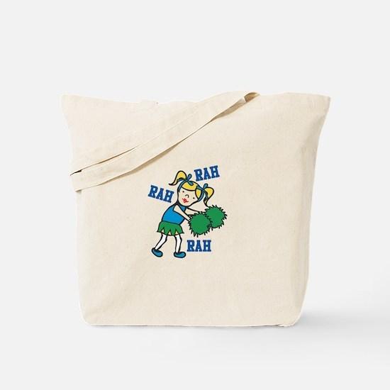 Rah Rah Cheer Tote Bag
