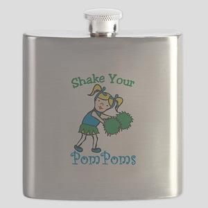 Your Pom Poms Flask