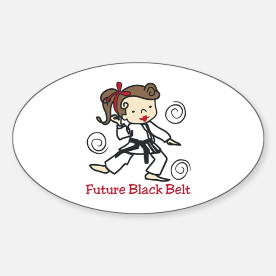 Future Black Belt Decal