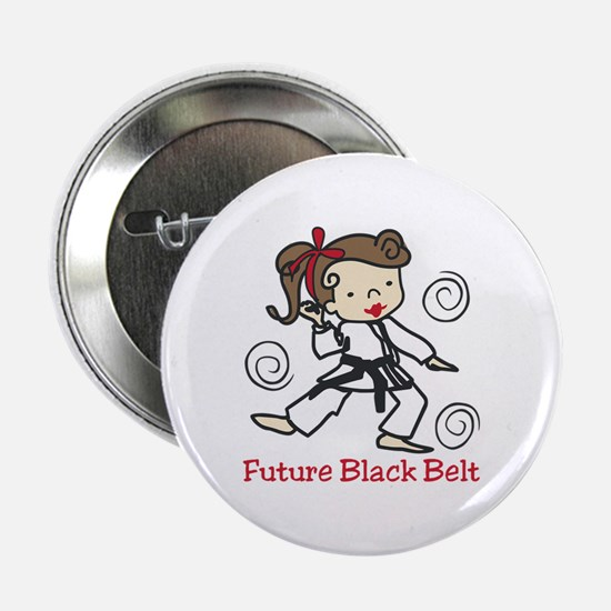 "Future Black Belt 2.25"" Button"