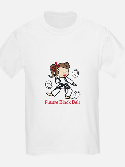 Future Black Belt T-Shirt
