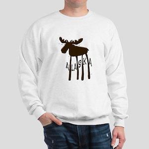 Alaska Moose Sweatshirt