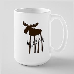 Alaska Moose Large Mug