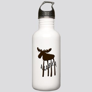 Alaska Moose Stainless Water Bottle 1.0L