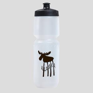 Alaska Moose Sports Bottle
