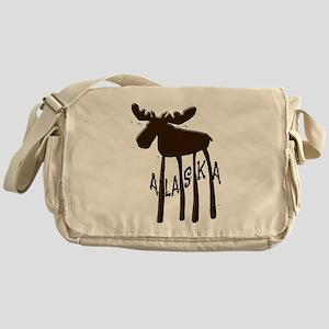 Alaska Moose Messenger Bag