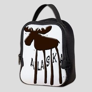 Alaska Moose Neoprene Lunch Bag