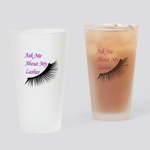 Ask me about my Lashes Drinking Glass