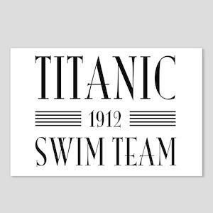 Titanic swim team 1912 Postcards (Package of 8)