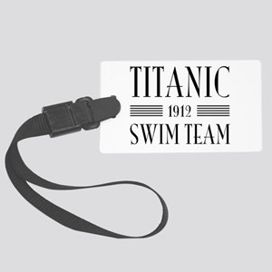 Titanic swim team 1912 Luggage Tag