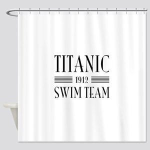 Titanic swim team 1912 Shower Curtain