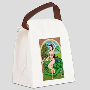 orientdragon Bikini Canvas Lunch Bag