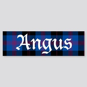 Tartan - Angus dist. Sticker (Bumper)