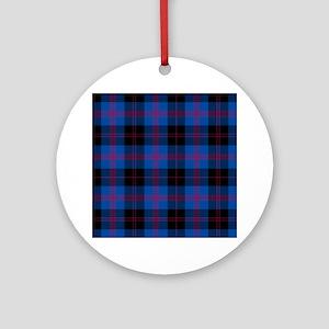 Tartan - Angus dist. Ornament (Round)