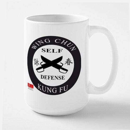 Wing Chun Kung Fu Logo Mugs