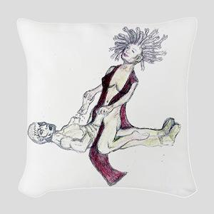 Medusa Colour Woven Throw Pillow