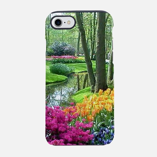 beautiful garden 2 iPhone 7 Tough Case