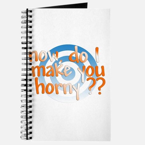 Do I make you horny Journal