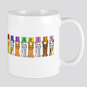 Aquarius Cats Mugs